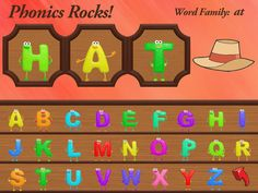 Get ABC Phonics Rocks! - FREE - for iPad on the App Store. See screenshots and ratings, and read customer reviews.