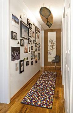 como decorar pasillo moderno