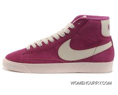 size 40 1c1c3 84d00 Nike Blazer High Light Plum Red Women Best