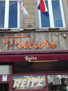 Restaurant Reitz - Frituur. Get your fries for takeaway or have a seat in the cozy restaurant which is directly located at the Markt http://reitz.nl/en/