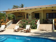 2 BR Guanacaste House in Costa Rica, Playa Venado Ocean Front Home with Pool at $150 a night. Great reviews. Close to the beach.