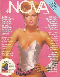 #Xuxa na capa da #Nova dos anos 80.