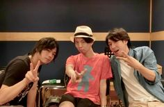 """""""Kimura as fab as always~ NamiDai and Suzu so handsome Ryohei Kimura, Voice Actor, Actors, The Voice, Handsome, Couple Photos, My Love, Game, Couple Shots"""