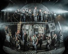 Urinetown. Scenic design by Soutra Gilmour.