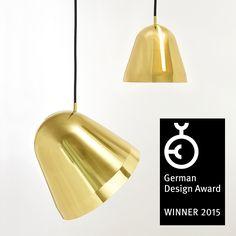 Our pendant light »Tilt« is awarded the Germany Design Award 2015