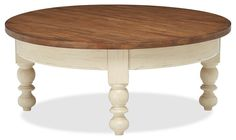 Traditional Round Coffee Table