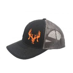 Texas Trophy Hunters Assoc. Black, Grey, and Orange Snap Back Cap