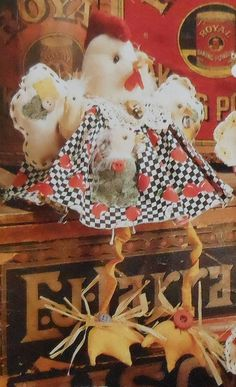 Chicken Doll Sewing Pattern
