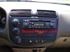 Honda Civic 03-05 Stereo Removal