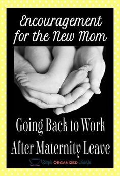 Here are the words I couldn't find at the time for this new mom and all of the other new moms going back to work after maternity leave. Please share it with any new moms you know and let them know we understand. Working Mom Quotes, New Mom Quotes, Inspirational Quotes For Moms, Working Mom Tips, Baby Quotes, Inspiring Quotes, Back To Work Quotes, Over It Quotes, Parenting Advice