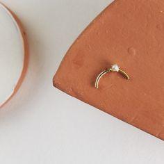 Minimalist Earrings, Stud Earrings, Studio, Collection, Instagram, Jewelry, Jewels, Studs, Schmuck