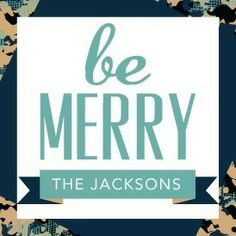 Merry Flair - Personalized Holiday Gift Tag Stickers - Rebecca Minkoff Holiday Collection