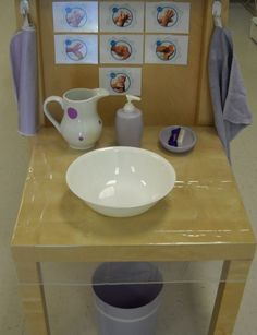 Handwashing Setup (Trillium Montessori)