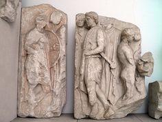 Telephos Frieze, South Wall, Pergamon Altar, Pergamon Museum, Berlin