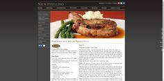 Nick Stellino - Pork Chops with Apple