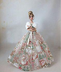 Barato Bonito vestido de baile festa vestido para Barbie Doll, Compro Qualidade Acessórios para boneca diretamente de fornecedores da China:                Bonito vestido de baile vestido de festa para boneca Barbie