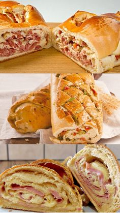 Crepes, Coffee Shop, Sandwiches, Food And Drink, Cooking Recipes, Tasty, Bread, Snacks, Ethnic Recipes