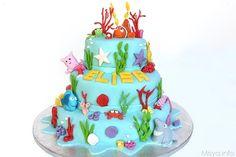 Torta Nemo a 3 piani, scopri la ricetta: http://www.misya.info/2014/09/01/torta-nemo-a-3-piani.htm