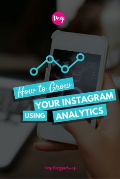 How to Grow Your Instagram Using Analytics. I'm going to share some solid tips to grow your Instagram account using analytics. Nothing is super complicated, it just takes time and a little elbow grease.