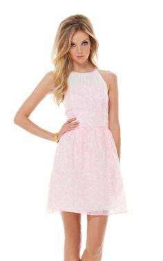 Kailey Chiffon Halter Dress