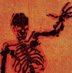Demon Aesthetic, Red Aesthetic Grunge, Orange Aesthetic, Retro Aesthetic, Goth Wallpaper, Orange Wallpaper, Collage Des Photos, Arte Punk, E Mc2