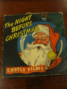 "A Castle Film movie, "" The Night Before Christmas"".our family 's since childhood. Merry Christmas To All, The Night Before Christmas, Antique Christmas, Retro Christmas, All Things Christmas, Childrens Christmas Books, Twas The Night, Photo Canvas, Xmas Decorations"