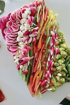 Colorful Veggie Plate