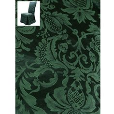 Damask Beanstock Dining Chair Cover