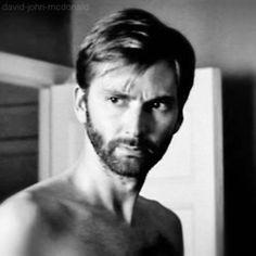 I love him with a beard...