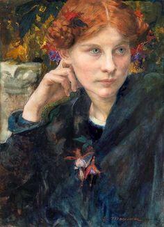 indigodreams: aurosanlo: EDGAR MAXENCE (1871-1954)