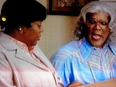 "Madea - let the redeemed say ""so""."