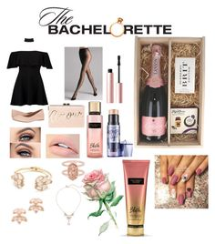 """""""The Batchelorette"""" by mckenziethomp on Polyvore featuring Boohoo, G.H. Bass & Co., Wolford, BCBGMAXAZRIA, Victoria's Secret, Kate Spade, Kendra Scott and Too Faced Cosmetics"""