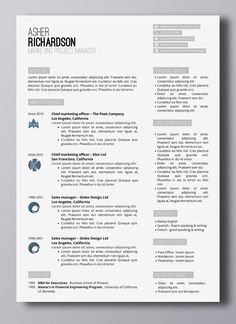 Smart Resume Resume Template Phoebe Griffiths  Modern Resume Template Modern