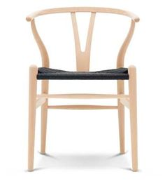 Y-chair | beech soap black papercord