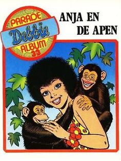 Debbie Parade Album 33 - Anja en de apen
