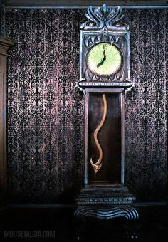 Haunted clock