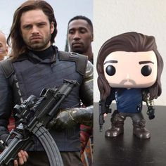 Funko Pop version of Bucky Barnes/Winter Soldier has better hair than me.  Explain WHY!