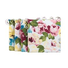 Outdoor Cushions-Summer Rose Print