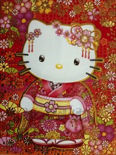 hello kitty chinese new year red envelope