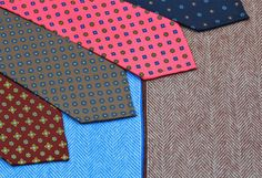 http://chicerman.com  shibumi-berlin:  Shibumi Fall/Winter 15: Printed 7-Folds  Four beautiful 7-fold ties in heavy 50oz silk. Available now.  http://ift.tt/1gHmjU0  #menshoes