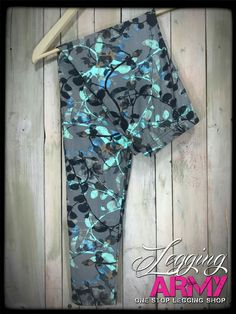 New prints are launching today! Fb: Legging Army with Jessie T
