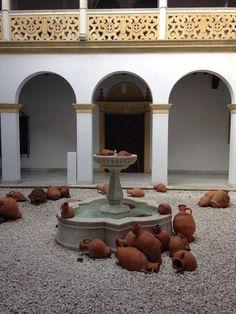 """Instalación """"lloviendo a cantaros"""" #venues #events #dmc #location #sevilla #andalucia #palacete #eventos #espacio #localizacion"""