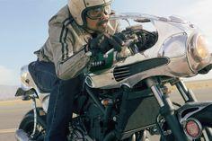 Shinya Kimuras Yamaha MT07 Faster Son ~ Return of the Cafe Racers