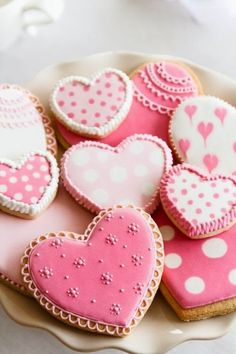 Lots of pretty, pink hearts to share with you on this Valentine's Day.     Wishing you lots of love, hugs and kisses.     Enjoy!       Pint...