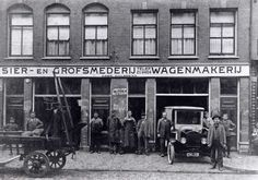 Amsterdam, Old Pictures, World War Ii, Netherlands, Holland, 19th Century, Facade, The Neighbourhood, Old Things