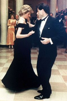 Diana and John Travolta