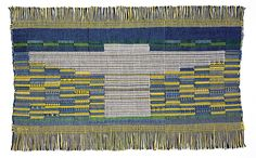 Fig. 2: Anni Albers, Sheep May Safely Graze, 1959. Cotton and synthetic fiber. 14-1/2 x 23-1/2 in. (36.8 x 59.7 cm). Museum of Arts and Design, Gift of Karen Johnson Boyd, through the American Craft Council, 1977 (1977.2.11).