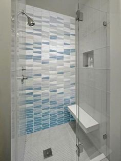 Phenomenal Bathroom Shower Tile Ideas, The tile ought to be installed around the shower space to make it stand out from different sections of the restroom. Phenomenal Bathroom Shower Tile I. Glass Tile Shower, Modern Master Bathroom, Modern Bathroom Design, Shower Room, Modern Shower Tile, Bathroom Interior, Bathroom Design Small, Bathroom Decor, Shower Tile Designs