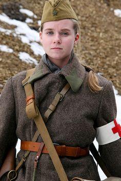 Red Army nurse (probably a modern reenactment photo) | Cardinality Predecessor - https://en.wikipedia.org/wiki/Toyota_Avalon#XX10 successor by Toyota Avalon - https://www.pinterest.com/pin/368943394458124270/