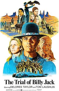 The Trial Of Billy Jack - 1974 - Movie Poster